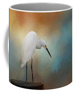 Watching Coffee Mug by Kim Hojnacki