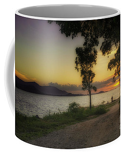 Watching Sunset Coffee Mug