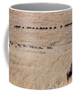 Watching The Herd Coffee Mug