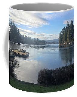Watching The Ice Melt Coffee Mug