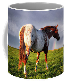 Watching The Rainbow Coffee Mug