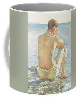 Watching The Sea Coffee Mug