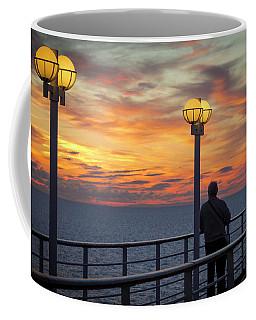 Watching The Sun Go Down Coffee Mug