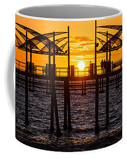 Watching The Sunset Coffee Mug by Ed Clark