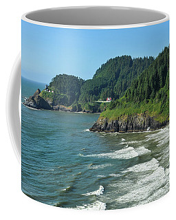 Watching The Waves Coffee Mug