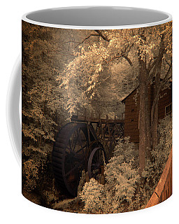 Watching The Wheels Coffee Mug