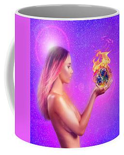 Watching The World Burn Coffee Mug