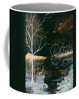 Watching The World Go Round Inverted Coffee Mug