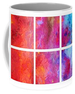 Water And Fire Abstract Coffee Mug