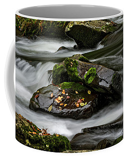 Water Around Rocks Coffee Mug