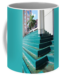 Coffee Mug featuring the photograph Water At The Federl Courthouse by Rob Hans