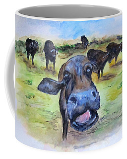 Water Buffalo Kiss Coffee Mug