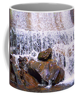Coffee Mug featuring the photograph Water Cascade by Roberta Byram