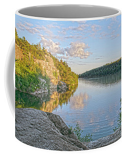Water, Clouds And Blue Coffee Mug