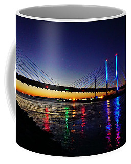 Coffee Mug featuring the photograph Water Colors by Ed Sweeney