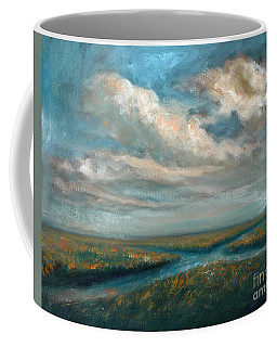 Water Cross Coffee Mug by Randy Burns