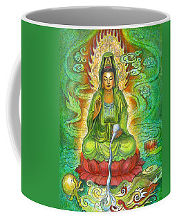 Water Dragon Kuan Yin Coffee Mug