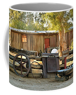 Coffee Mug featuring the photograph Water Draw At Hotel Nipton California By Floyd Snyder by Floyd Snyder