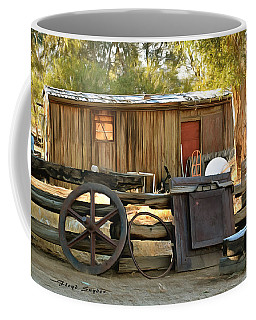 Coffee Mug featuring the photograph Water Draw At Hotel Nipton California Detail by Floyd Snyder