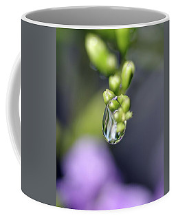 Coffee Mug featuring the photograph Water Droplet Iv by Richard Rizzo