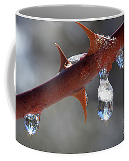 Water Droplets Coffee Mug
