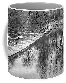 Water Flowing Over Dam In Wayne New Jersey Coffee Mug