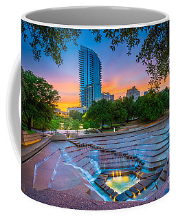 Water Gardens Sunset Coffee Mug