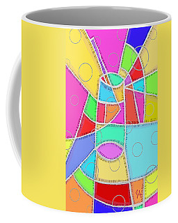 Water Glass Of Light And Color Coffee Mug