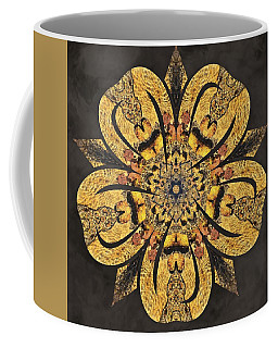 Coffee Mug featuring the mixed media Water Glimmer 2 by Derek Gedney