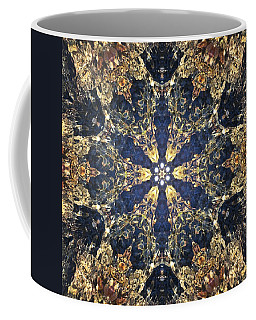 Coffee Mug featuring the mixed media Water Glimmer 3 by Derek Gedney
