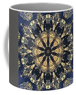Coffee Mug featuring the mixed media Water Glimmer 4 by Derek Gedney