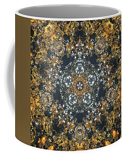 Coffee Mug featuring the mixed media Water Glimmer 5 by Derek Gedney