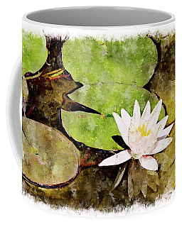 Water Hyacinth Two Wc Coffee Mug