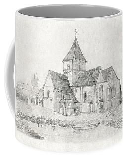 Water Inlet Near Church Coffee Mug