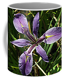 Water Iris Coffee Mug