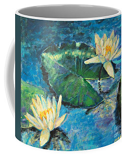 Water Lilies Coffee Mug by Ana Maria Edulescu