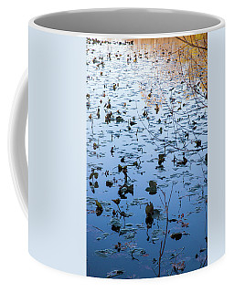 Water Lilies Autumn Song Coffee Mug