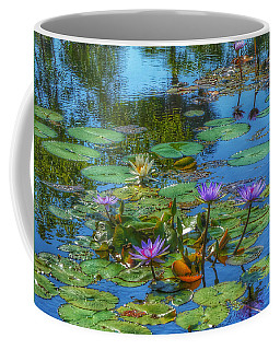 Water Lilies I Coffee Mug