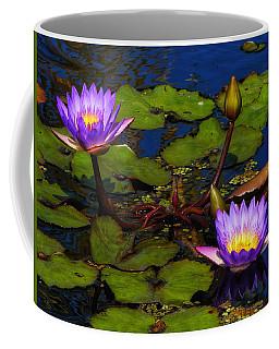 Water Lilies Iv Coffee Mug