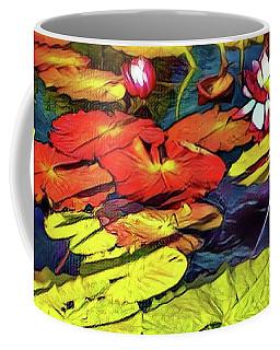 Water Lilly Pond Coffee Mug