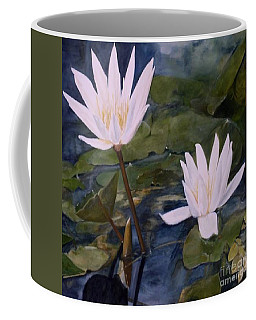 Water Lily At Longwood Gardens Coffee Mug by Laurie Rohner