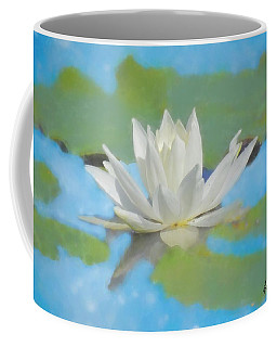 Water Lily Blossom Coffee Mug