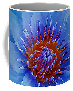 Water Lily Center Coffee Mug