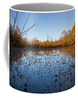 Water Lily Evening Serenade Coffee Mug