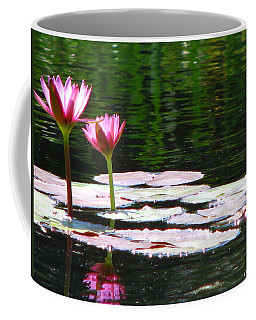 Coffee Mug featuring the photograph Water Lily by Greg Patzer