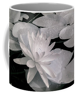 Water Lily In Infrared Coffee Mug