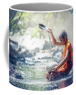 Water Meditation Coffee Mug by Kai Saarto