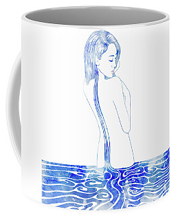 Water Nymph Lxxv Coffee Mug