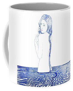 Water Nymph Lxxvii Coffee Mug