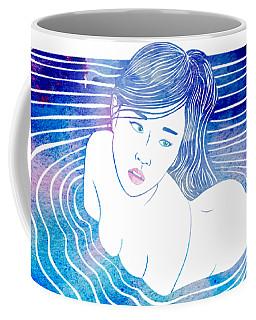 Water Nymph Lxxxix Coffee Mug